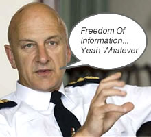 ian puddick news freedom of information requests refused
