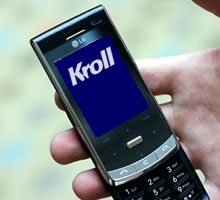 ian puddick news kroll use untraceable mobile phones